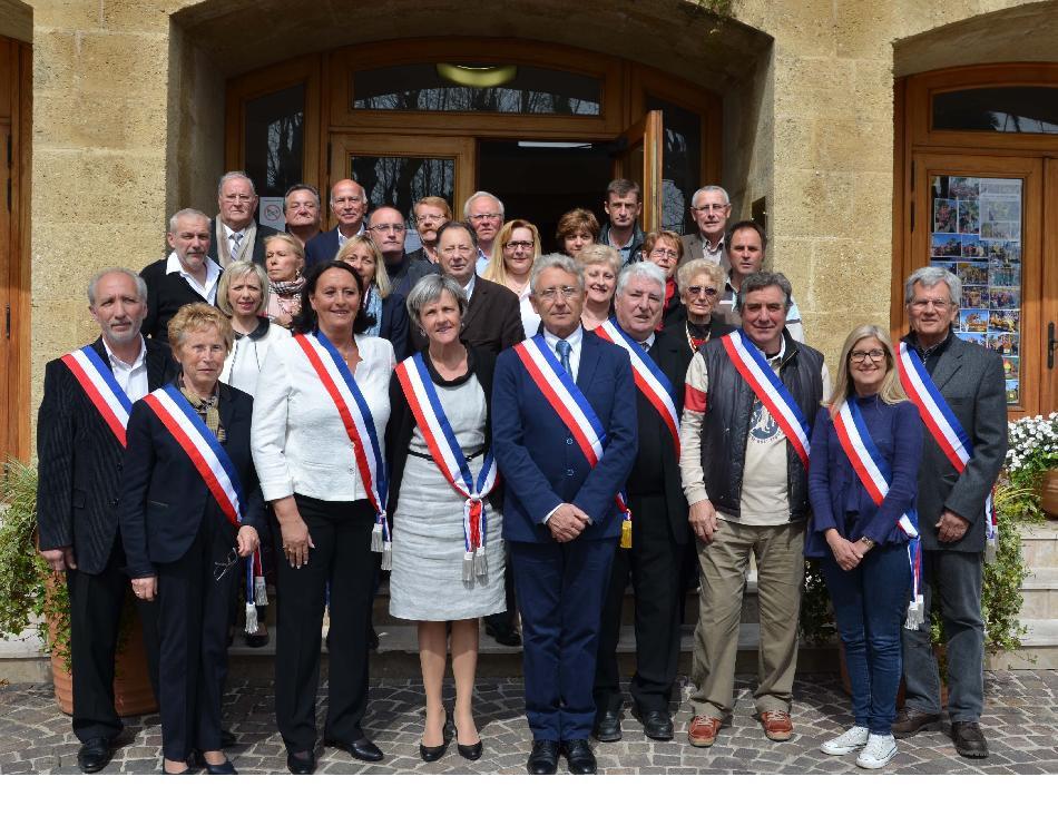 Les élus de la mairie