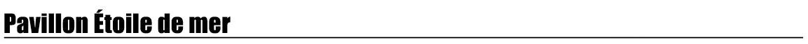 titre-pavillon-etoile-de-mer