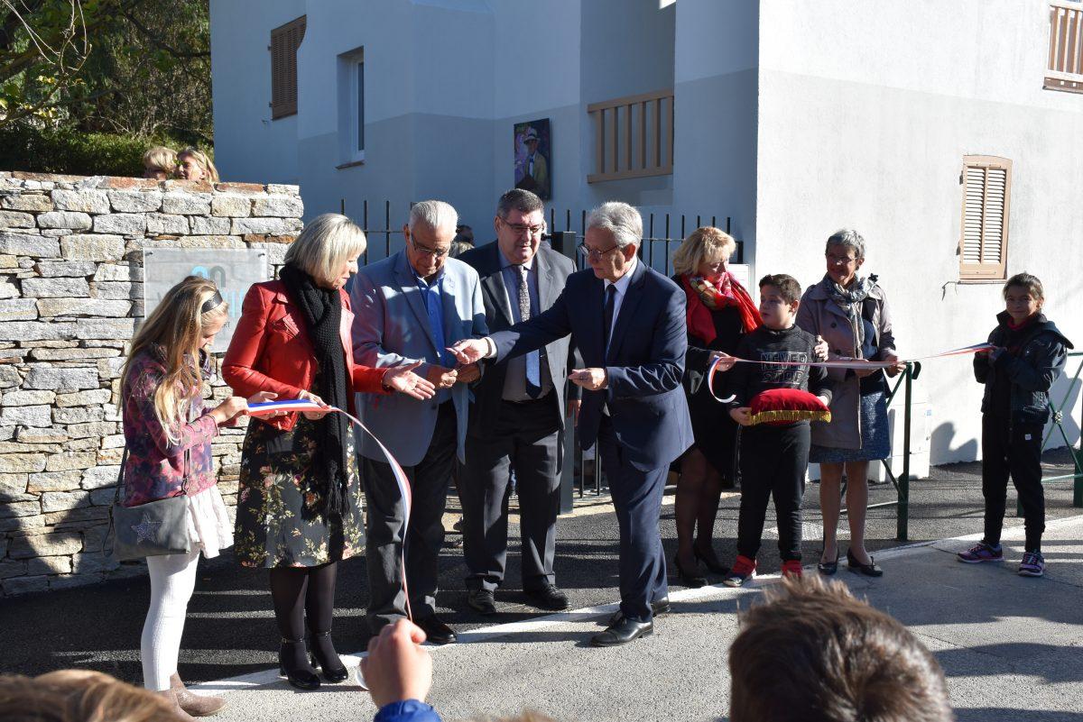 Inauguration Villa Théo