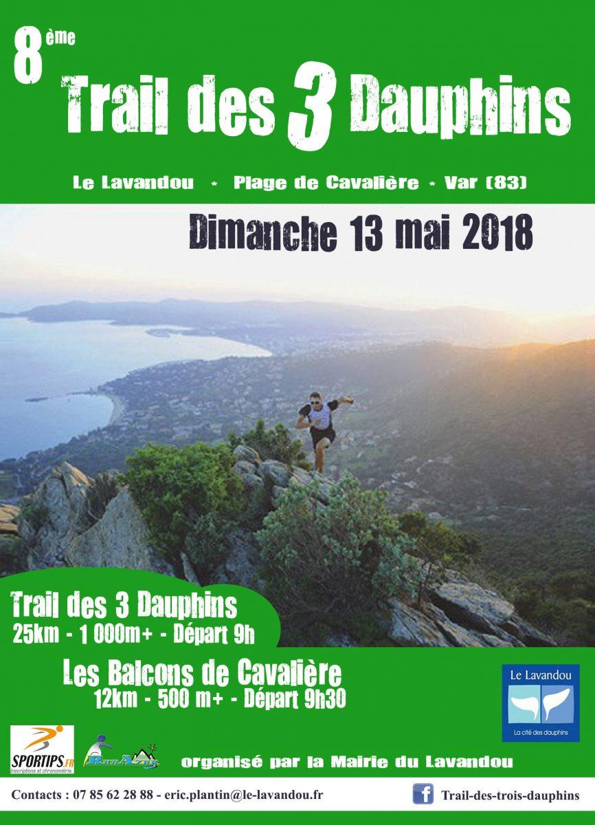 Dimanche 13 mai - 8ème Trail des 3 Dauphins