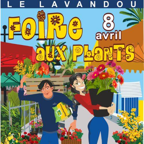 Dimanche 8 avril - Foire aux plants sur le front de mer
