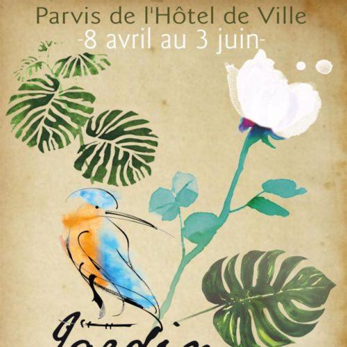 Du 8 avril au 3 juin - 2ème jardin éphémère réalisé par les jardiniers de la Ville - Parvis de l'Hôtel de Ville