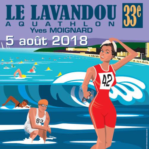 Dimanche 5 août 2018 - 33e Aquathlon Yves Moignard - Départ 9h30 Front de mer